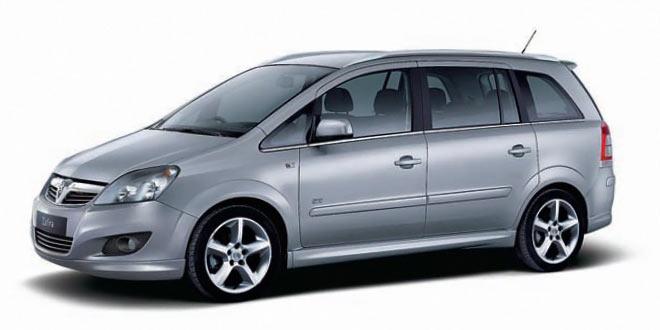 Opel Zafira 7-seat 1.6cc