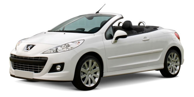 Peugeot 207 open-top 1.4cc auto